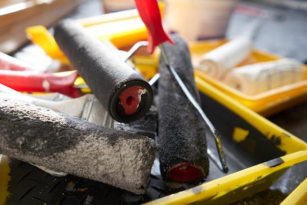 Materiali da costruzione, magazzino, riparazione e costruzione domestica