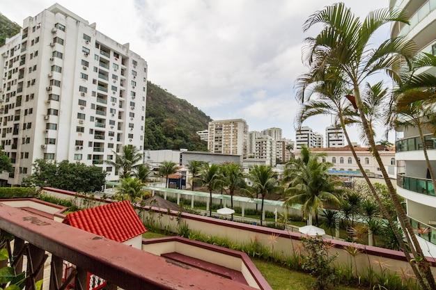 Edifici nel quartiere di botafogo a rio de janeiro in brasile.