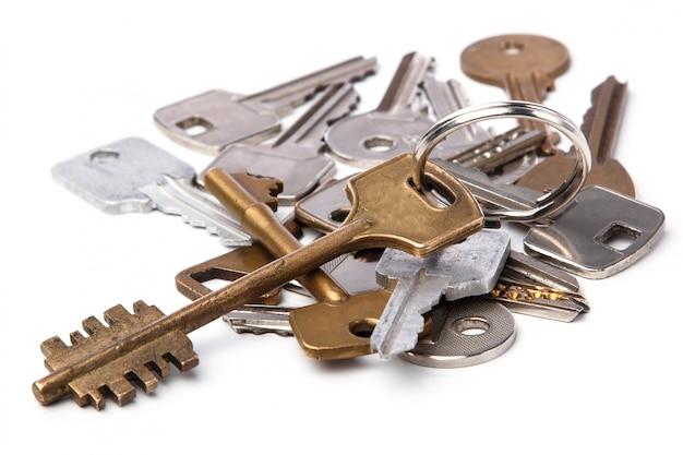 Mazzo di chiavi diverse