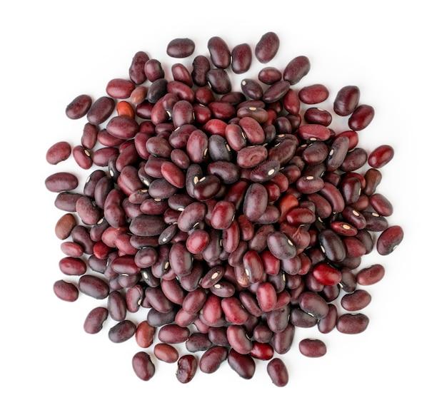 Mazzo di fagioli rossi isolati