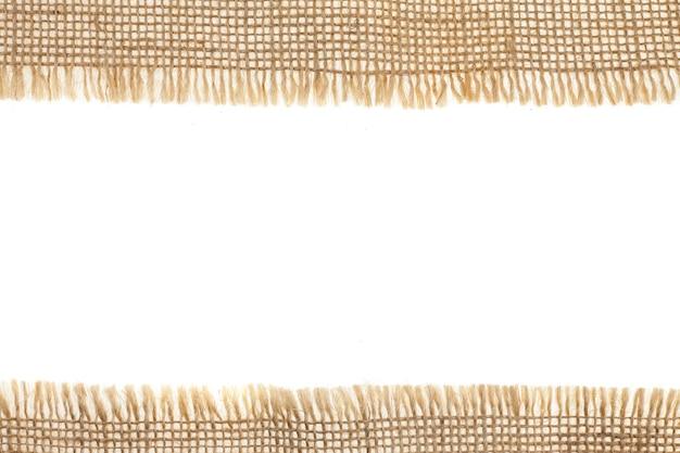 Fondo di struttura del tessuto della tela da imballaggio.