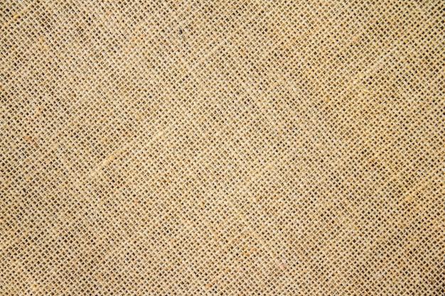 Fondo e struttura del sacco di tela da imballaggio