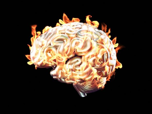 Cervello che brucia