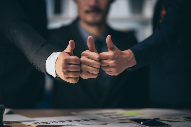 Idee di successo aziendale dal team aziendale