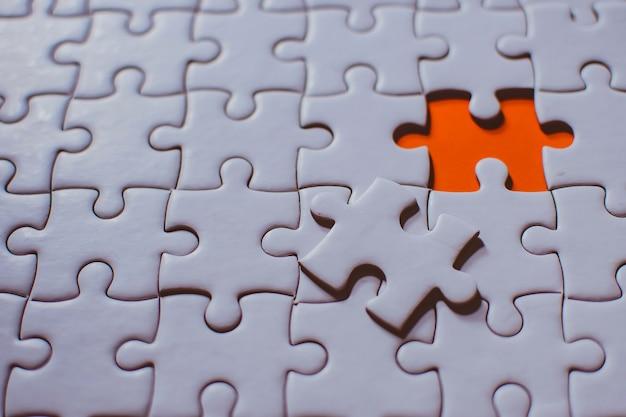 Il team aziendale è costituito da un puzzle