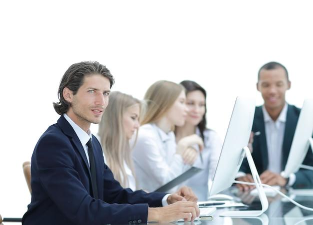 Squadra di affari che lavora a un nuovo progetto