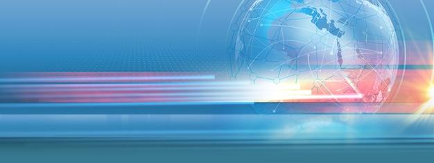 Background di commercio e comunicazione aziendale
