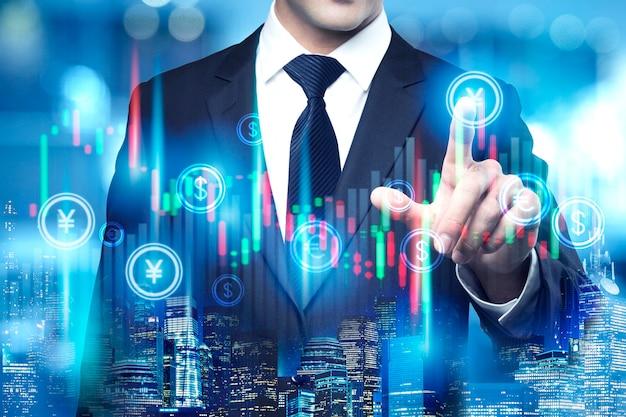 Concetto di trading aziendale