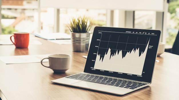 Tecnologia di analisi dei dati visivi aziendali tramite software creativo