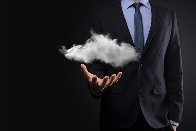 Imprenditore azienda cloud