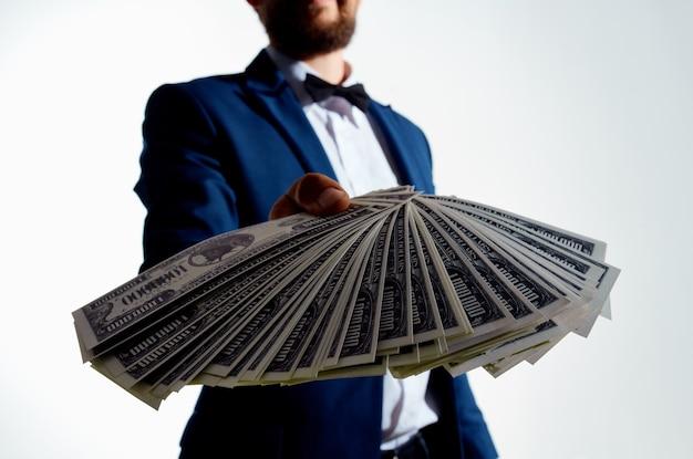 Fondo isolato dell'economia degli investimenti degli uomini d'affari