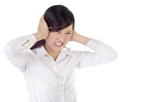 Imprenditrice sotto stress.
