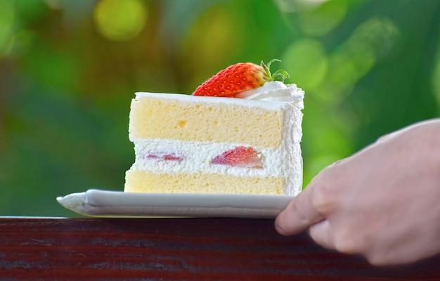 Torta una deliziosa e dessert