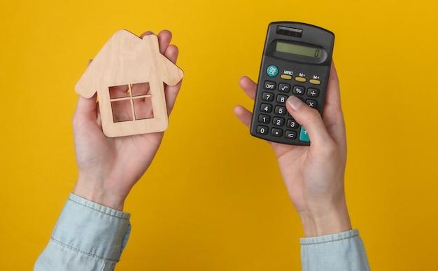 Calcolo del costo degli alloggi, affitto.