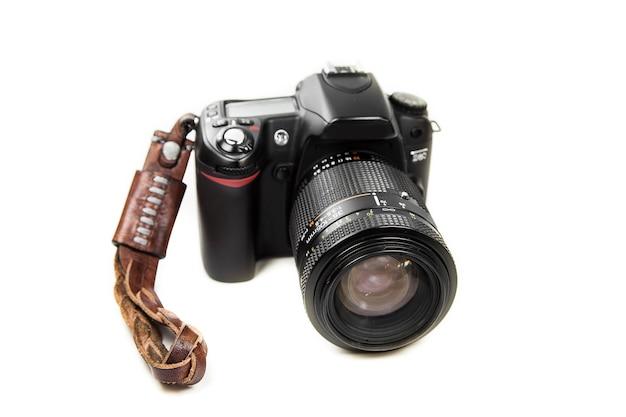 Sfondo bianco della fotocamera