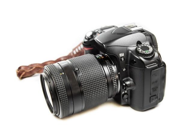 Superficie bianca della fotocamera