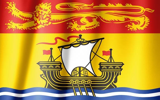 Serie di bandiere delle province canadesi - new brunswick