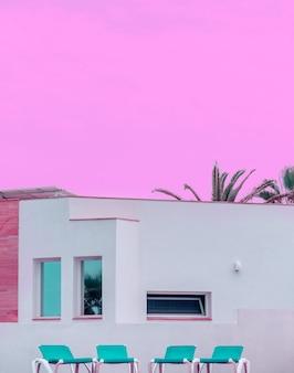 Canarie. luogo di vacanza tropicale. minimo. ideale per la carta di viaggio