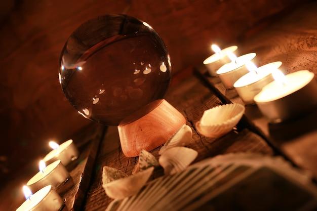 Carte dei tarocchi divinazione candela