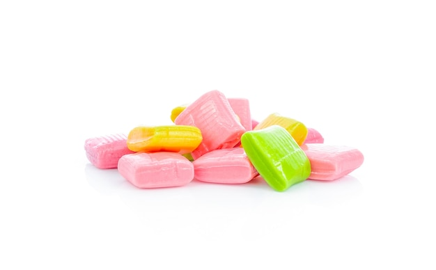 Candy isolato su bianco