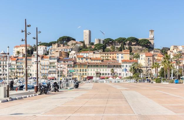 Vecchia piazza di cannes francia