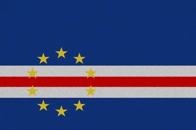 Bandiera in tessuto capo verde