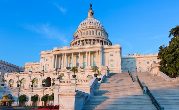 Capitol che costruisce congresso degli stati uniti del washington dc