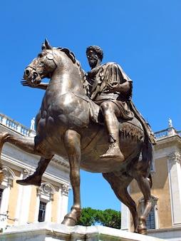 Museo capitolino a roma, italia