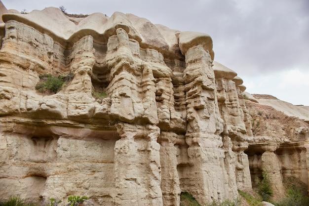 Cappadocia città sotterranea all'interno delle rocce