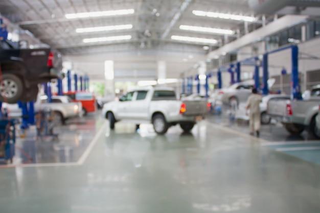 Centro di servizio di riparazione auto