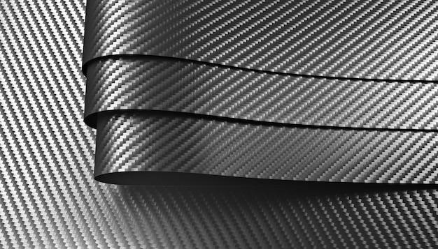 Materiale in fibra di carbonio