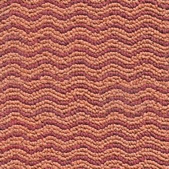 Tappeto per il pavimento con un motivo a zig-zag multicolore sfondo o trama