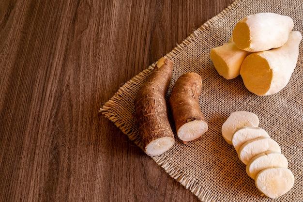 Cassava, chiamata anche manioca