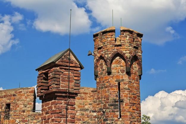 Castello nella valle del reno nella germania occidentale