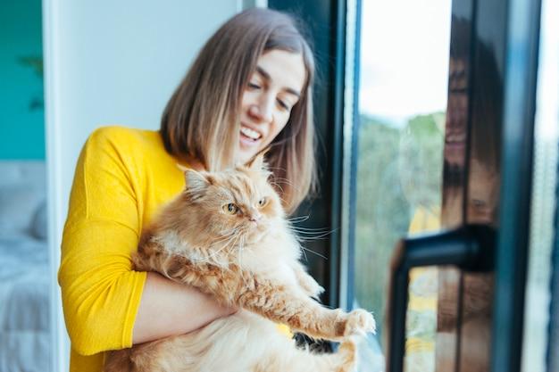 Gatto con problemi di peso