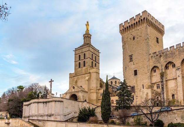 Cattedrale notre-dame des doms di avignone in francia