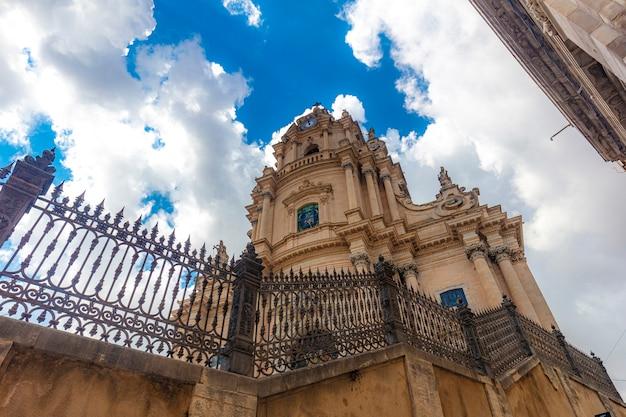 Cattedrale di san giorgio a ragusa, sicilia.
