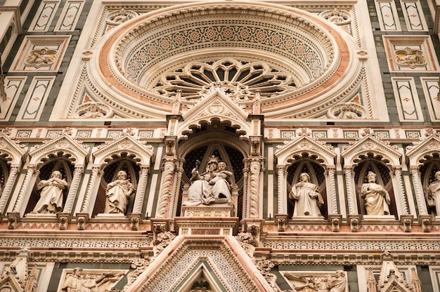 Cattedrale santa maria del fiore a firenze, italia.