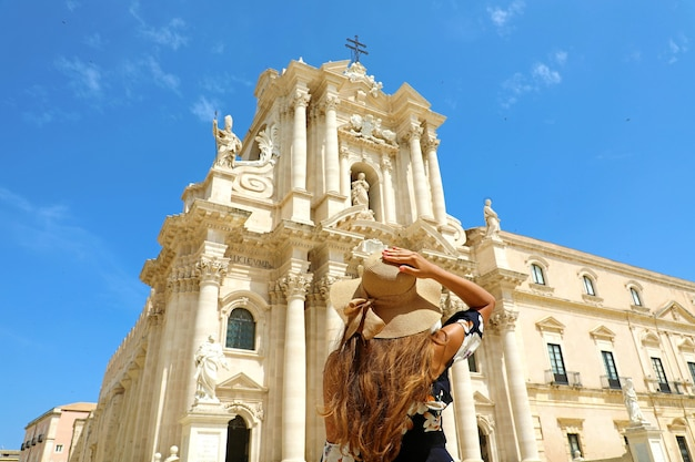 Cattedrale di siracusa in sicilia