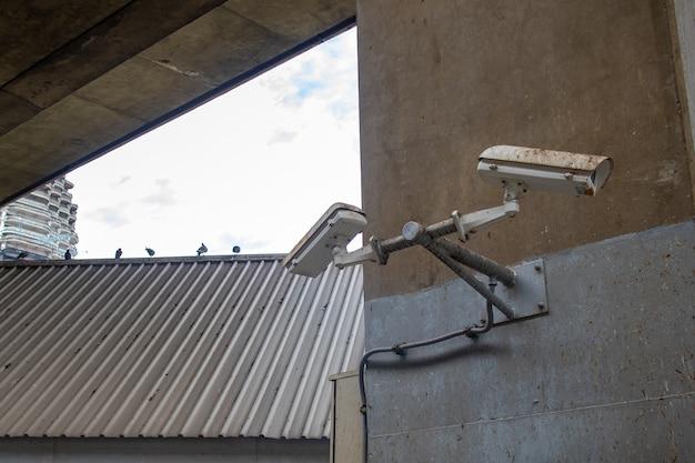 Telecamera a circuito chiuso, cacca di piccione