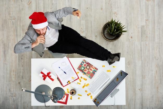 Festeggia il nuovo anno di lavoro