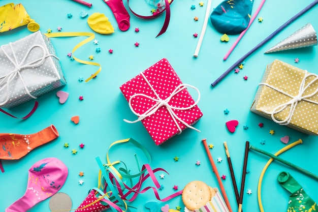 Celebrazione, idee di concetti di sfondi di partito con elemento colorato
