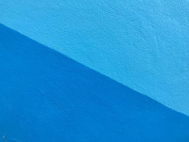 Muro di cemento il pastello blu dipinto ha dettagli.