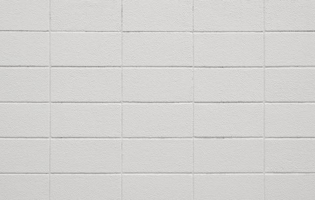 Trama di muro bianco di cemento