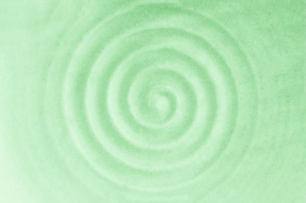 Fondo di piatto in ceramica, vibrazioni circolari