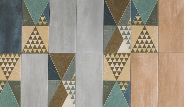 Mattonelle di ceramica mosaico astratto motivo geometrico ornamentale