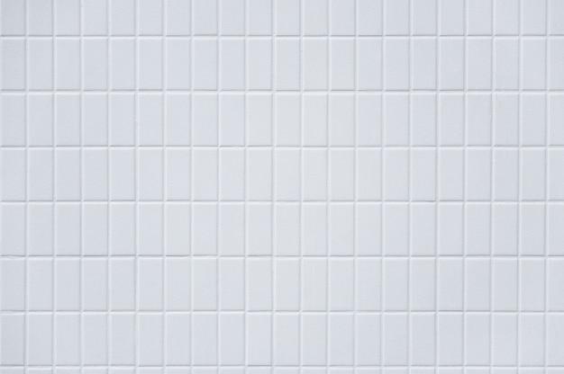 Piastrelle in ceramica, struttura del muro di mattoni bianchi