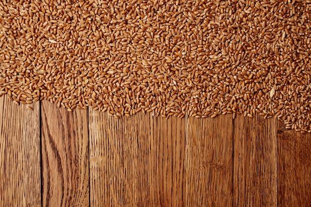 Cucina di cereali ingredienti per la colazione cucina vista dall'alto
