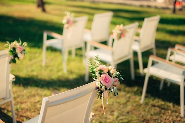 Sedie per cerimonia nuziale