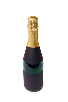 Champagne su un bianco